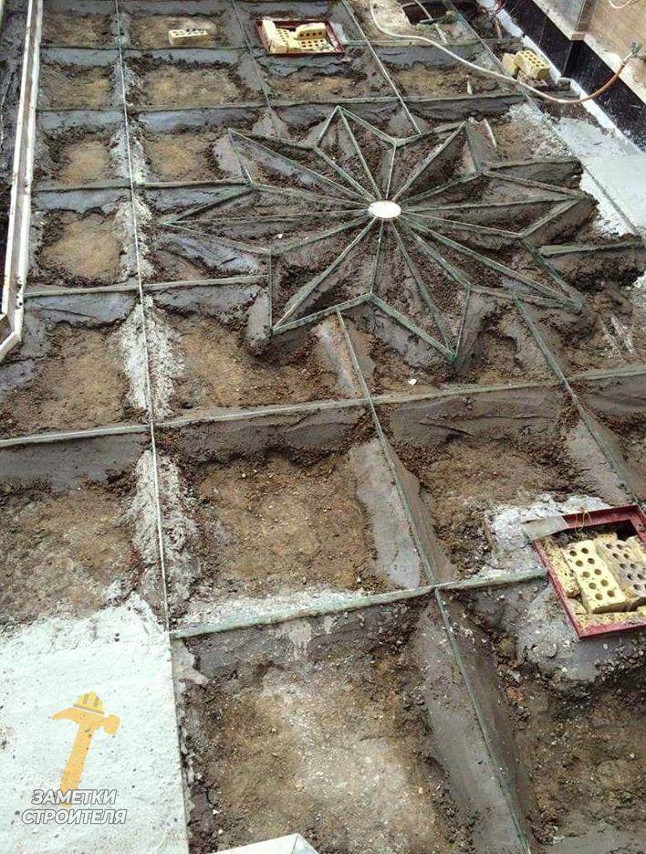 бетон дачник